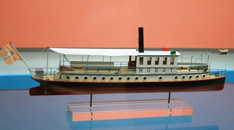Model of steamer Morat