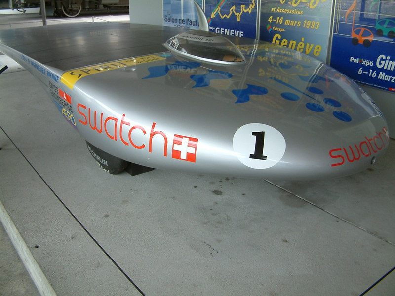 Swiss inventiveness - the solar powered racing car Spirit of Biel-Bienne III, 1993