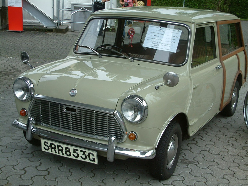 Luzern Mini Owners Club temporary exhibit