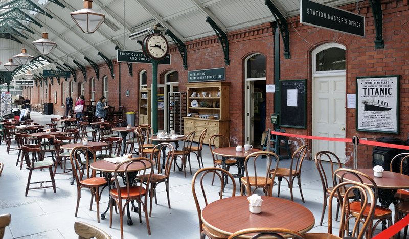Queenstown station, Fri 11 May 2012.  Now part of Cobh heritage centre.
