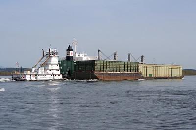 HURRICANE - Tidewater Barge Lines - Built 1968 (Rebuilt 1996)