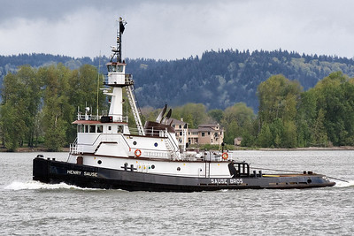 HENRY SAUSE (IMO number: 7530078)  | Columbia River, Columbia City, Oregon  | Canon EF 70-300mm f/4-5.6 IS USM