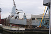 HMS Dragon at Govan, 5th July 2008