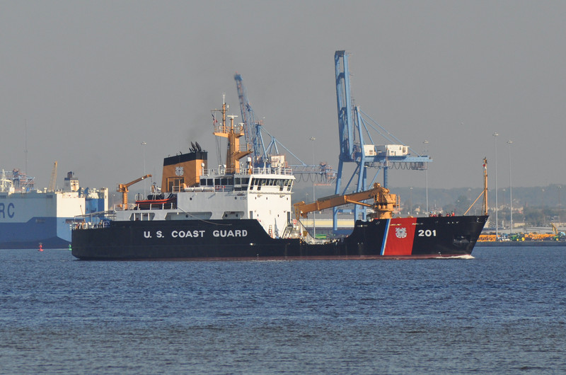 CGC Juniper WLB201<br /> 225' Seagoing Buoy Tender<br /> Homeport: Newport, RI<br /> <br /> Photo ?-?-2013, Baltimore, MD