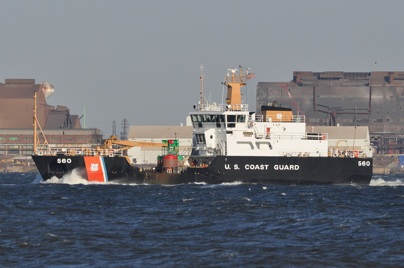 CGC William Tate WLM560<br /> 175' Buoy Tender<br /> Homeport: Philadelphia, PA<br /> <br /> Photo 2-27-2014, Baltimore, MD