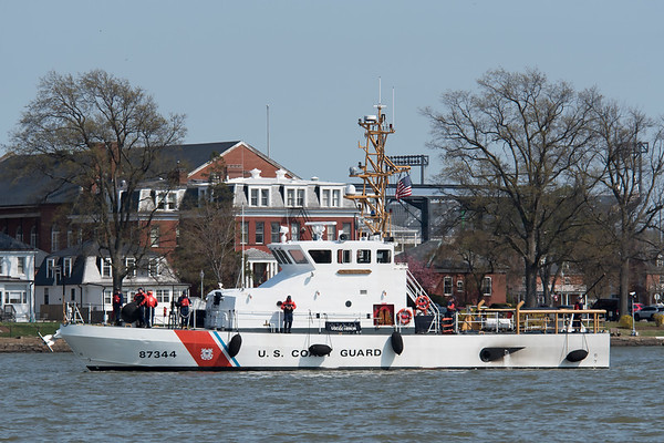 USCGC Heron WPB-87344  4/18/18 Hains Point