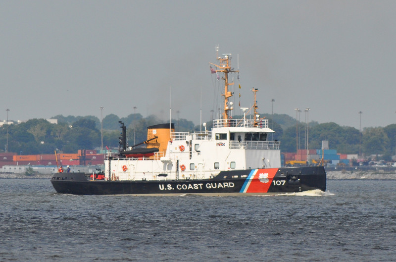 CGC Pendoscot Bay WTGB107<br /> 140' Ice Breaking Tug<br /> Homeport: Bayonne, NJ<br /> <br /> Photo 9-3-2013, Baltimore, MD