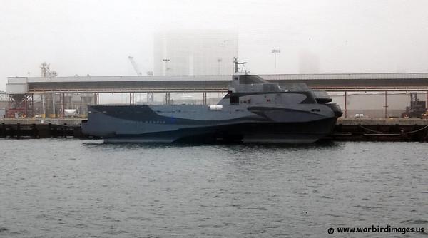 Lockheed Martin HSV Sea Slice is an experimental United States Navy vessel