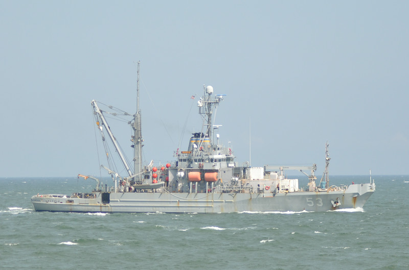 USNS Grapple T-ARS-53 <br /> <br /> 8/28/14 Norfolk, VA