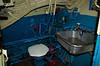 Ablutions, Soviet Foxtrot class submarine B-427 'Scorpion', Long Beach, California, 2 October 2006 2    ...and three toilets.