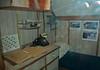 Captain's cabin, Soviet Foxtrot class submarine B-427 'Scorpion', Long Beach, California, 2 October 2006
