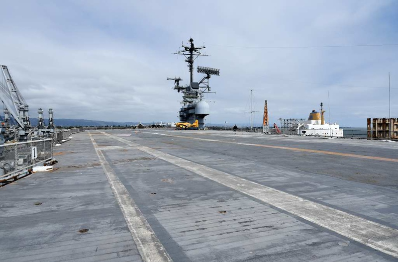 USS Hornet (CV-12), Alameda, California, 9 May 2019 5.  Flight deck.