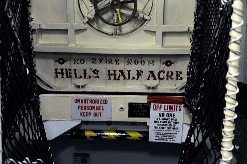 Hell's half acre, USS Hornet (CV-12), Alameda, California, 7 May 2013.
