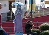 Performer, South Street Seaport, New York City, 24 September 2005.