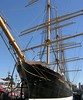 Peking, South Street Seaport, New York City, 24 September 2005 1. Steel barque built in Hamburg in 1911.  Taken to Germany in 2017 for restoration and display at Hamburg.