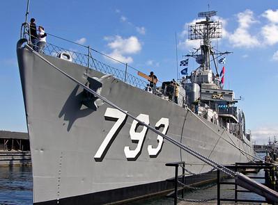 USA: USS Cassin Young (DD 793), Boston, Mass, 2005