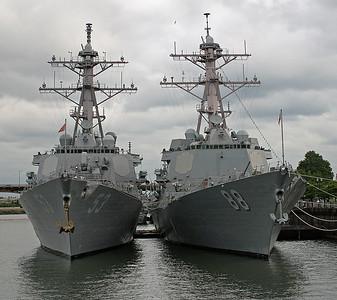 USS Preble DDG 88 / USS John Paul Jones DDG 53