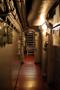 USS North Carolina (BB-55) Corridor