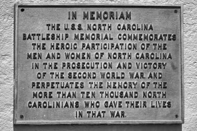 USS North Carolina (BB-55) In Memoriam