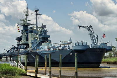 Battelship USS North Carolina