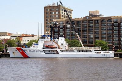 USCGC Diligence (WMEC-616) Built 1964 Wilmington, North Carolina