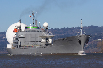 PACIFIC TRACKER XTR-1 (IMO: 6507921) US Missile Defense Agency X-Band Transportable Radar Ship
