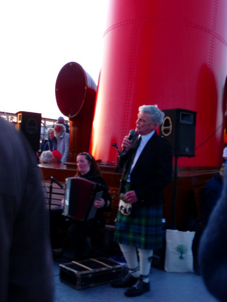 Members of the Oban Gaelic Choir performed songs in Gaelic and English - their contributions made for a memorable evening cruise in the Lynn of Lorn, Loch Linnhe and Lochaber