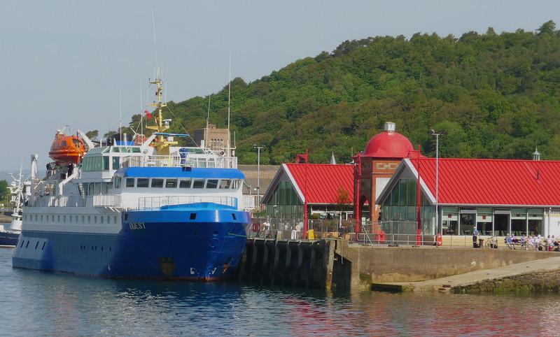 MV Quest at Oban North Pier