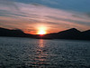 A typical sunset over the Morvern hills
