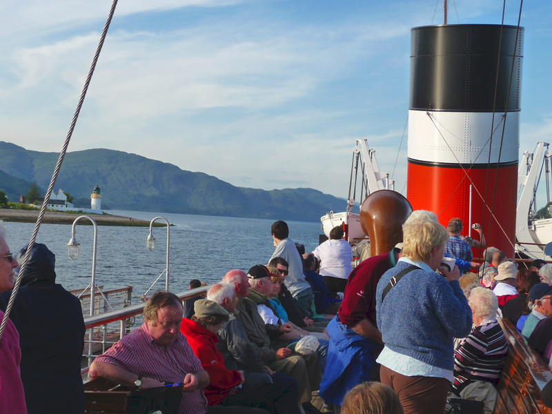 Waverley approaching the Corran Narrows
