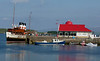 Waverley at Oban North Pier on Saturday 30th May , preparing to go round Ardnamurchan to Skye and Loch Nevis