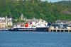 Isle of Arran at Oban Railway pier