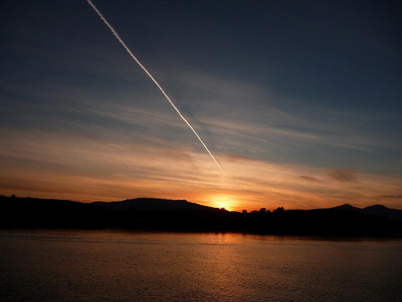 Sunset over Lismore