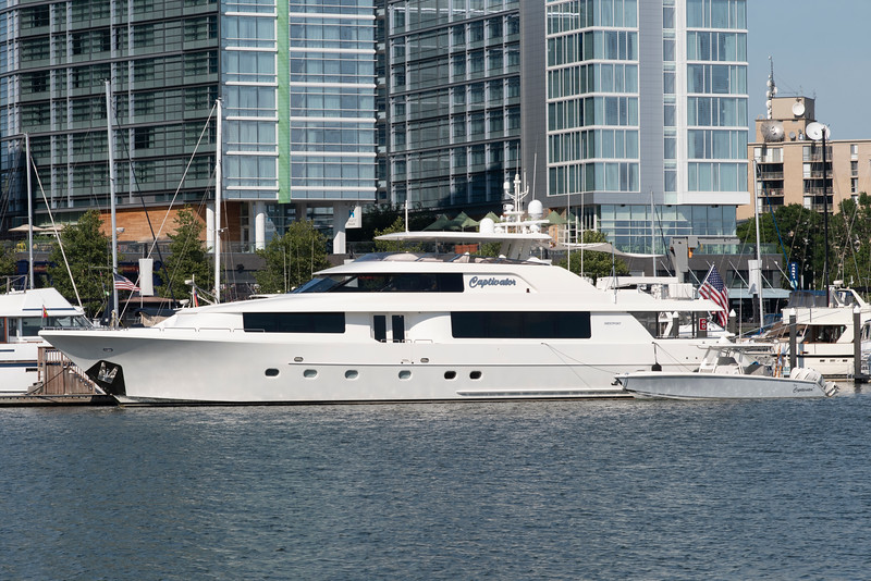 M/Y Captivator<br /> 2011 112ft Westport 112<br /> ex Pepper XIII<br /> <br /> 7/15/19 Washington Channel
