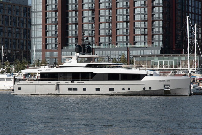 M/Y Tremenda<br /> 2016 125ft Admiral<br /> <br /> 8/26/18 Washington Channel