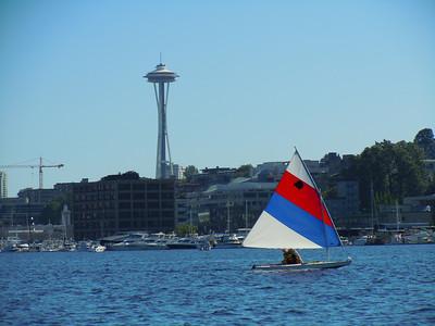 Sail boat, Seattle,