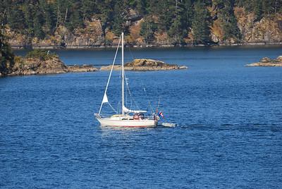 Sailboat peace