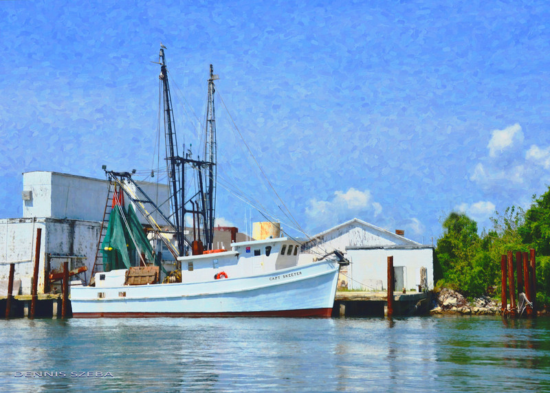 Capt. Skeeter fishing Boat, Beaufort, NC. 2012