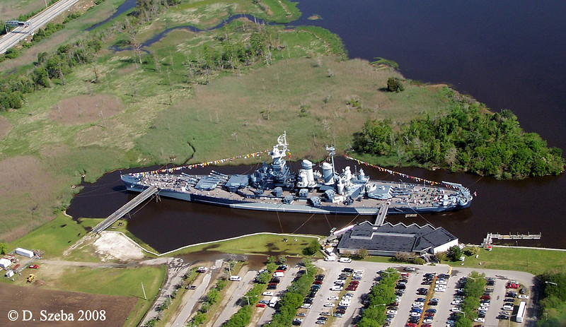 Battleship USS North Carolina. Wilmington, NC. 2008