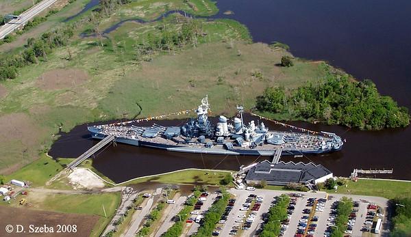 Battleship USS North Carolina. Wilmington, NC. 2008