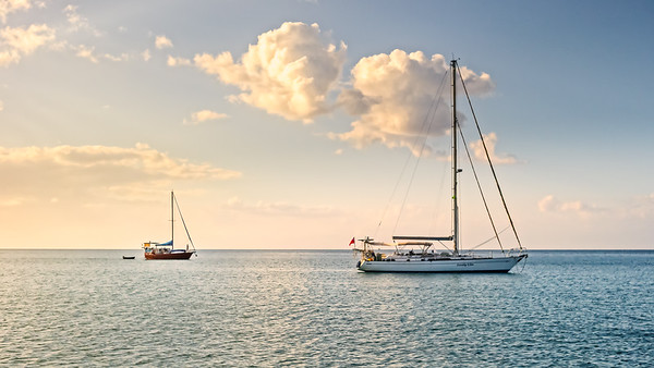 Late Afternoon Sailing in Montego Bay