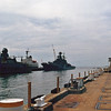 Date:  1989<br /> Location:  Norfolk, VA<br /> Otlichnyy<br /> The Otlichnyy is docked to the center of the image