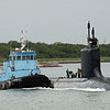 Date: 4/30/13 - Location: Port Canaveral, FL<br /> Class:  Virginia class fast attack submarine<br /> Name:<br /> Hull number: