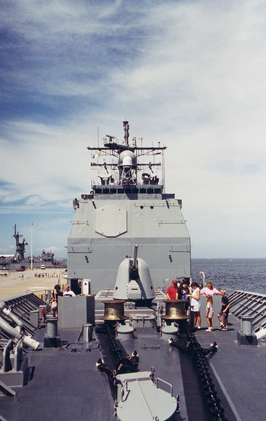 USS Hue City CG-66 Port Visit
