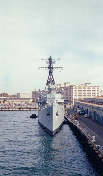 Date: unknown<br /> Location: Norfolk, VA<br /> USS Lynde McCormick, DDG-8