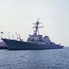 Date: unknown - Location: Pensacola, FL<br /> Class:  Arleigh Burke class destroyer<br /> Name:  Mitscher<br /> Hull Number:  DDG-57