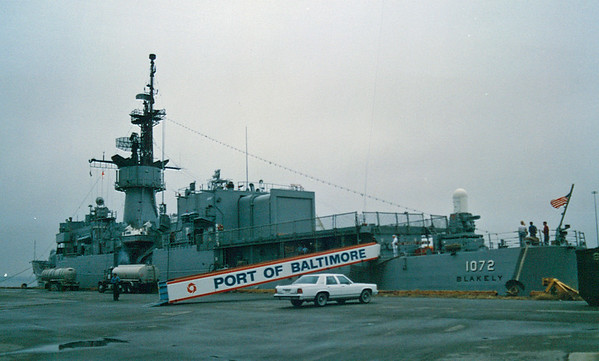 USS Blakely FF-1072 Port Visit