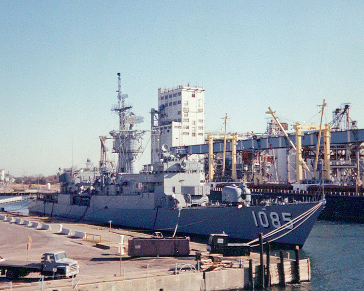 Date: unknown<br /> Location: Norfolk, VA<br /> USS Donald B. Beary, FF-1085