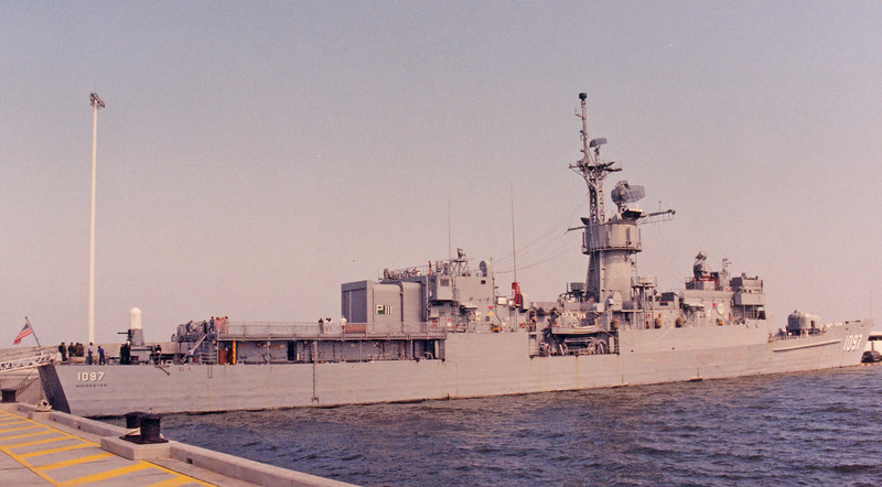 Date: unknown - Location: Mobile, AL<br /> Class:  Knox class frigate<br /> Name:  Moinester<br /> Hull Number:  FF-1097