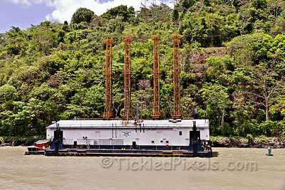 Drilling and Blasting Barge 'Thor'